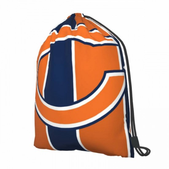 Lightweight Chicago Bears Drawstring strap pack #300621 for Students Teens Boy Girl