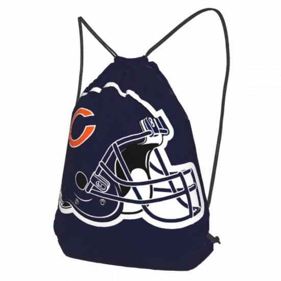 Lightweight Chicago Bears Drawstring strap pack #300141 for Students Teens Boy Girl