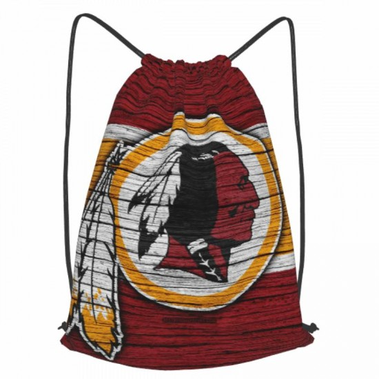 Casual Outdoor NFL Washington Redskins (Football Team) Drawstring strap pack #303601 for Women and Men